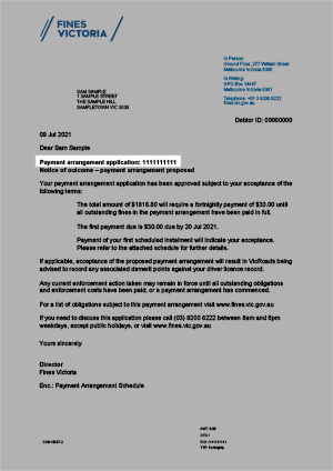 Sample Letter To Police